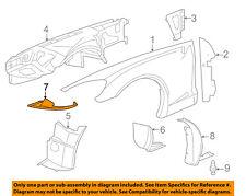 Chevrolet GM OEM Front Fender-Liner Splash Shield Extension Left 15252929
