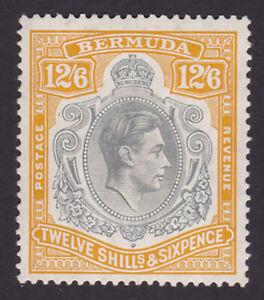 Bermuda. SG 120b, 12/6 grey & pale orange. Fine mounted mint.