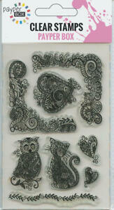 NEW Clear Acrylic Craft Stamp Set The Owl & the Pussey Cat