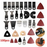 100x Oscillating Blades Saw Multi Tool 34mm Makita Fein Bosch Multimaster