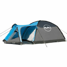 Tiendas de campaña color principal azul de nueve personas para acampada y senderismo