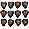12 Pack DAY DEAD SUGAR SKULL PURPLE Medium Gauge 351 Guitar Picks Plectrum