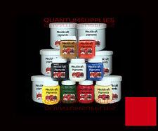 Señal roja Epoxi Pigmento Para Gelcoat / Resina 100g Fibra De Vidrio Moldes