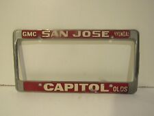 Black License Plate Frame  FORMER CREW MEMBER USS INTREPID Auto Accessory 189