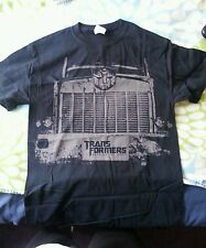 Transformers DARK OF THE MOON OPTIMUS PRIME T-SHIRT  FREE S/H