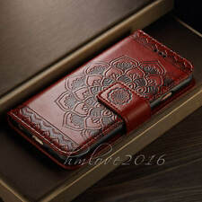 Deluxe Half Mandala Flip Stand Wallet Leather Case For Apple iPhone 7/6 /6S Plus