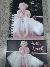 Marylin Monroe Journal Note Book & 16 Note Card Set New