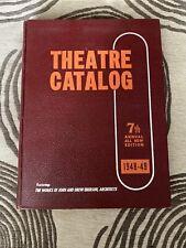 The 1948 -49 Theatre Catalog Vol 7 - Vintage Film Broadway & Hollywood - Rare