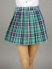 1/6 Phicen, Hot Toys, Kumik, Cy Girl, ZC, NT Female Green Tartan Plaid Skirt #2