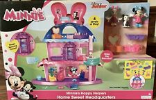 Fisher- Disney Minnie Mouse Home Sweet Headquarters Playset 52114722