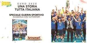 LIBRO GUERIN SPORTIVO ITALIA EURO 2020 EUROCAMPIONI UNA STORIA TUTTA ITALIANA