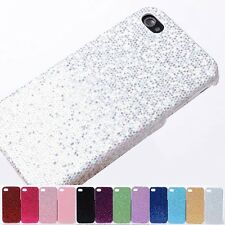 Fashion Color Charm Glitter Bling Hard Back Case Cover skin for iphone 4 4G 4S