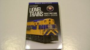 Lionel 108722 Trains Pocket Greenberg's Guide-1901-2022.........JUST IN