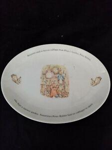 Wedgwood Beatrix Potter oval plate