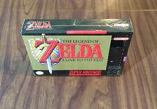 Legend of Zelda A Link to the Past (Super Nintendo, SNES) Brand New -Black Label