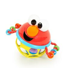 Bright Starts Sesame Street Jingle & Shake Elmo Easy-Grasp Rattle, New Fast ✈
