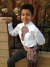 MEXICAN TRICOLOR SASH SIZE SMALL FROM MEXICO. FAGA TRICOLOR CHICA ECHA EN MEXICO