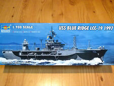 Trumpeter 1:700 USS Blue Ridge LCC-19 1997 Ship Model Kit