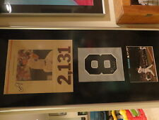 Cal Ripken jr RARE signed auto display autographed 1/1