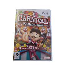 BNIB ~ NINTENDO Wii ~ CARNIVAL FUNFAIR GAMES ~ PAL ~ {Manufacturer Sealed}