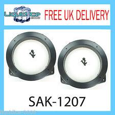 SAK-1207 BMW MINI 130MM FRONT DOOR SPEAKER FITTING ADAPTOR RING 2001 - 2006