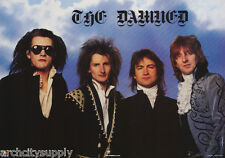 Poster : Music : The Damned - All 4 Posed - Free Shipping ! #Aa240 Lw3 S