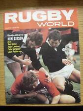 01/03/1979 Rugby World Magazine: March Edition - Complete Issue of the monthly m