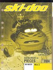 2000 Ski-Doo Mini Z Snowmobile Parts Manual