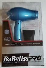BaByliss PRO Nano Titanium Folding Travel HAIR DRYER  lightweight NEW !