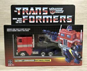 Transformers Optimus Prime G1 Reissue Walmart Exclusive Heroic Autobot Commander