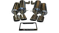 Fits BMW E60 M5 V10 5.0L 06-10 Rear Section Performance Exhaust Systems