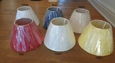 Christopher Wray 16.5cm (h) x 25.5cm (dm) cotton empire shaped lamp shade
