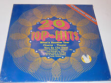 vintage NEW sealed LP 20 TOP HITS eurovision ausgabe MRA-45 1980