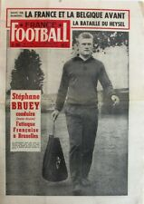 France Football n°605  - 1957 - Stéphane Bruey - La Bataille du Heysel - Grillet