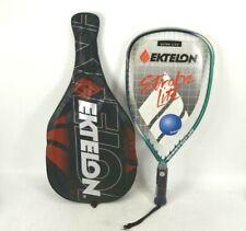 Ektelon Strobe Lite Ultra Racquet With Bag Graphite Racket Racquetball