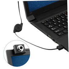 Mini USB2.0 5 Megapixels Retractable Clip WebCam Web Camera For PC Laptop YT