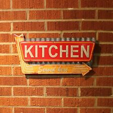 Retro Kitchen Metal Wall Sign for mancave streetrod tiki bar garage shop ford
