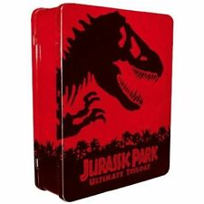 JURASSIC PARK Ultimate TRILOGY BLU-RAY + DVD DIGITAL COPY 3-MOVIES 6-DISCS R2