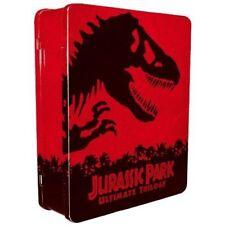 JURASSIC PARK Ultimate TRILOGY BLU-RAY + DVD DIGITAL COPY 3-MOVIES 6-DISCS R2