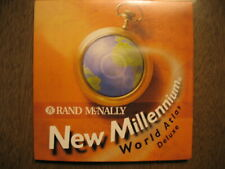 Rand McNally New Millennium World Atlas Deluxe for Windows New sealed