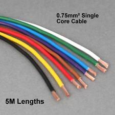 Di alta qualità 5M lunghezza di 0.75 MMSQ Parete Sottile Single Core Cavo valutato a 14 Ampere