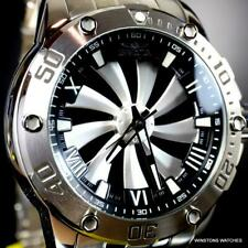 Invicta Speedway Turbine Silver-Tone Stainless Steel Automatic 49mm Watch New