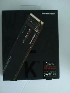 Western Digital WD Black SN750 1TB NVMe M.2 SSD Solid State Drive Gaming
