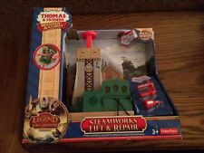 Steamworks Lift & Repair for the Thomas Wooden Railway System New in Box