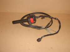 suzuki gsf650 s 2006 o/s switch gear+throttle tube+cables