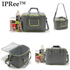 IPRee 18L Insulated Thermal Lunch Box Food Storage Carry Tote Bag Cooler Picnic
