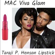 Mac VIVA GLAM Taraji P Henson Matte Lipstick 0.10 oz NIB Satin Finish Glam Lip