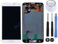 ECRAN LCD + VITRE TACTILE ASSEMBLE COMPLET POUR SAMSUNG GALAXY S5 SM-G900F BLANC