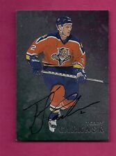 RARE 1998-99 BE A PLAYER # 207 PANTHERS TERRY CARKNER AUTOGRAPH CARD (INV# 9324)