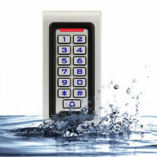 Hot!! Waterproof Metal Case Silicon Keypad RFID 125Khz EM Card Access controller